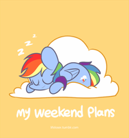 [GIF]my weekend plans by MACKINN7
