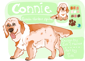 Connie the Clumber for sale by TheyCallDaWindMariah