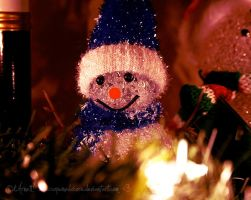 Merry Christmas Little Snowman by soPWNEDXcore