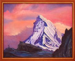 Mountain's icy shell by AldemButcher