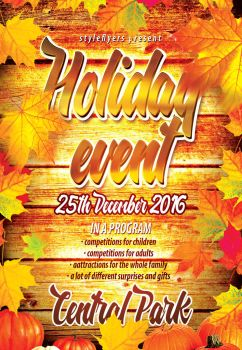 Holiday-event  by Styleflyers