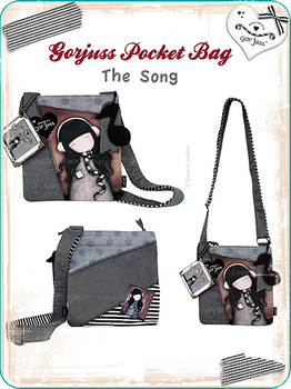 Gorjuss Pocket Bag The Song by gorjuss