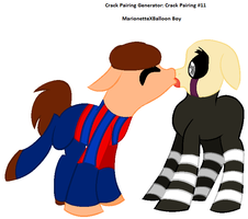 Crack Pairing Generator: MarionetteXBalloon Boy by AngelsArt1034