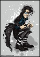 Tim Burton by Leopreston
