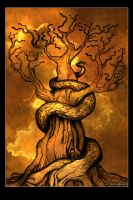 Tree of Snakes by Aeyolscaer