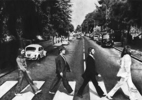 The Beatles - Abbey Road by NatyPedretti