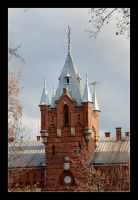 Tower Fire Station In Cracow by skarzynscy