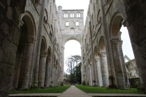 L'Abbaye de Jumieges by dunklerfruehling