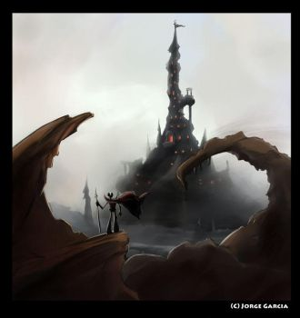 Spire Castle, Low Res by AnimatorJay