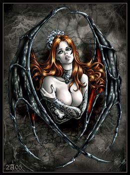 Succubus color by Candra