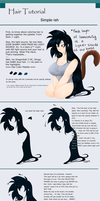 Hair Coloring Tutorial by Ootsutsuki
