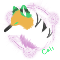 fluffy headshot - cali by VictoriWind