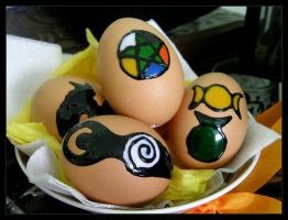 Ostara Eggs by Wilhelmine