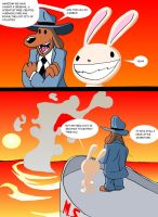 A adventure of Sam and max... by toongrowner