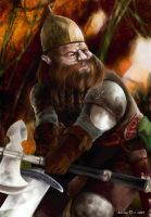 Gimly - the dwarf by southercomfort