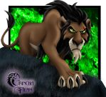Disney Villains: Scar by Grincha