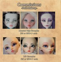 Commission Prices List by MySweetQueen-Dolls
