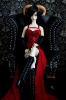 The Red Queen by prophetek