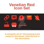 Venetian Red Icons set by themajiks