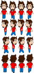 Request: RPG sprites of Deigamer by CyberPunkSammy