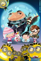 Despicable me!!! by vancamelot