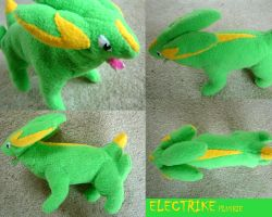 Electrike Plushie by Silverbirch
