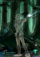 Elfin Shaman - lyphaia qu'enn by Van-Syl-Production