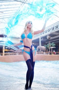 Crystal Maiden (swimsuit) [DotA2] by QTxPie