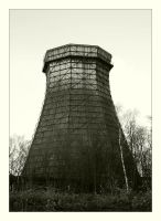 Cooling tower by Barefeet-in-the-rain