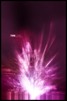 Pink Abstract.. by Venomai