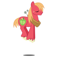 Bouncing Big Macintosh by ShadyHorseman