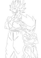 DBZ: Fathers and Sons by darkhawk5