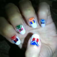 Sailor Moon Manicure 1 by MikariStar