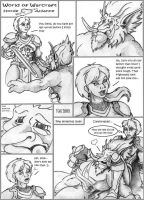 WoW comic 2: Love thy enemy. by DeepWoodian