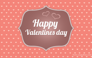 Free Printable Valentines Day Card PSD - cssauthor by cssauthor