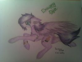 Like a Hero- Drawing Dye by Rainbow-Note