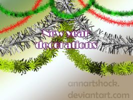 New year decorations by AnnArtshock