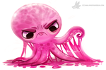 Daily Painting #935. Gummy Octopus by Cryptid-Creations