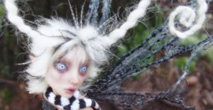 Cobweb sculpture by pixiwillow