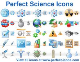 Perfect Science Icons by richardkingempire