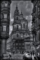 Prague, St. Nicolas Church by Jazzoline