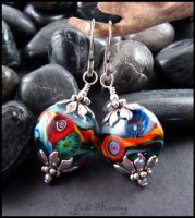 Gypsy Dancing - Earrings by andromeda