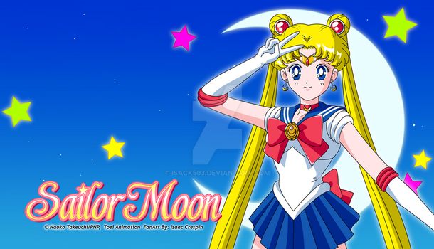 Sailor Moon Classic Wallpaper 2 by Isack503