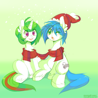 Holiday Poni - Advent 1 by pekou