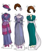 gowns for besty jane by electricjesuscorpse