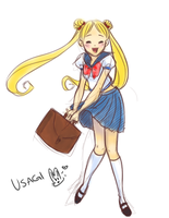 Usagi-chan by prismageek