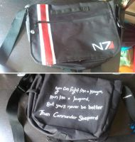 N7 Messenger Bag by Aeolian-Wisp
