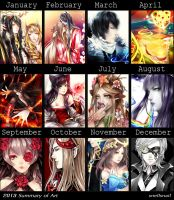 2013 Summary of Art by SnellSnail