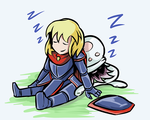 Sleeping on the Job by DeadlyObsession