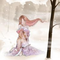 In snow by Onis